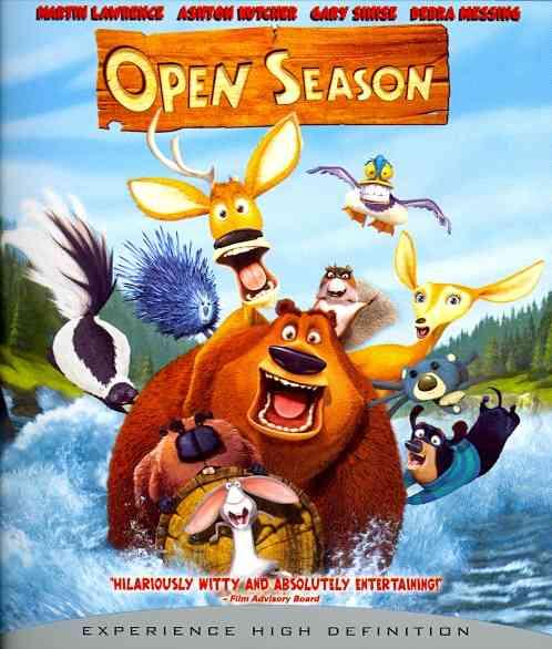 OPEN SEASON BY LAWRENCE,MARTIN (Blu-Ray)